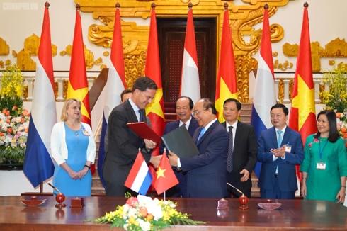 Thủ tướng Nguyễn Xuân Phúc đón và hội đàm với Thủ tướng Hà Lan Mark Rutte (Thời sự chiều 9/4/2019)