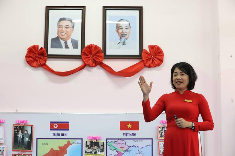 Gặp gỡ những người bạn Triều Tiên góp phần tô thắm tình hữu nghị hai nước Việt Nam và Triều Tiên (1/4/2019)