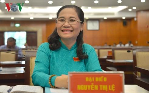 Bà Nguyễn Thị Lệ được bầu làm Chủ tịch Hội đồng nhân dân Thành phố Hồ Chí Minh (Thời sự đêm 8/4/2019)