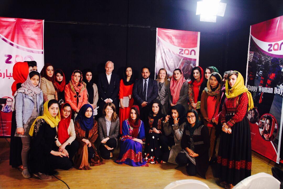 Zan TV - Kênh truyền hình duy nhất ở Afganistan chỉ dành riêng cho phụ nữ ở nước này (23/4/2019)