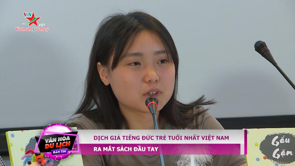 """""""Gấu gặm"""" – Tác phẩm đầu tay của dịch giả tiếng Đức trẻ tuổi nhất Việt Nam (21/5/2019)"""