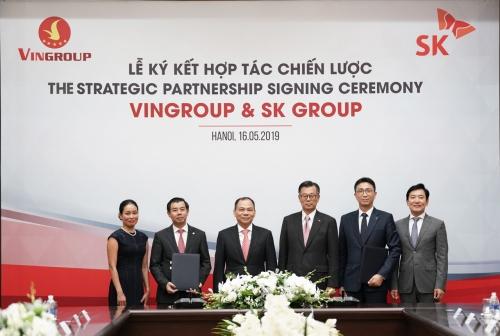 Hợp tác đầu tư của VinGroup với tập đoàn lớn thứ 3 Hàn Quốc (17/5/2019)