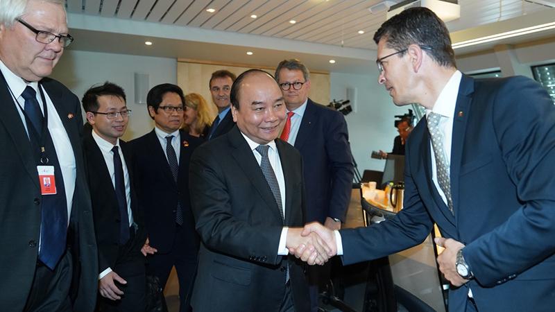 THỜI SỰ 18H CHIỀU 25/5/2019: Thủ tướng Nguyễn Xuân Phúc hội kiến với Chủ tịch Quốc hội Na Uy và gặp gỡ các tập đoàn hàng đầu của nước này.