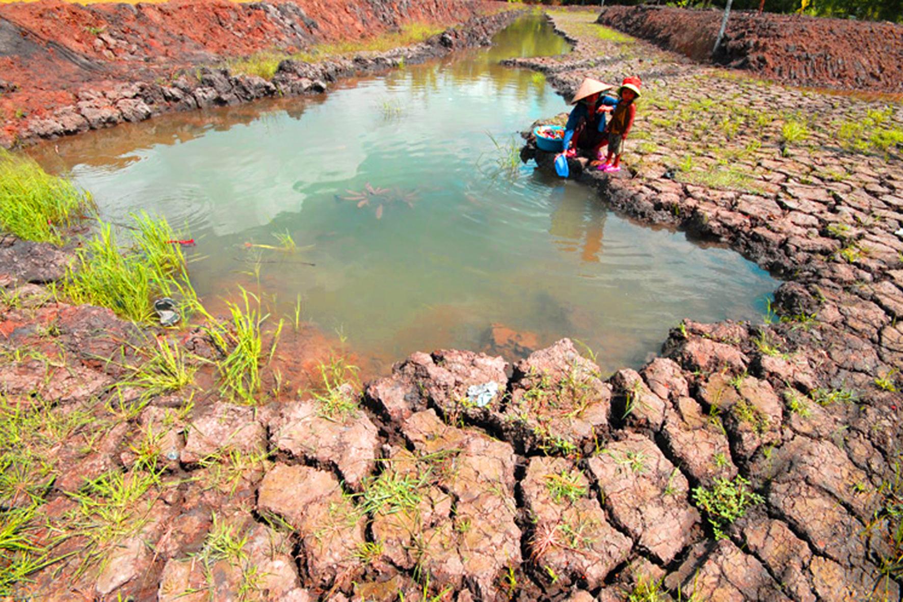 Nguy cơ thiếu nước sinh hoạt do biến đổi khí hậu (1/5/2019)
