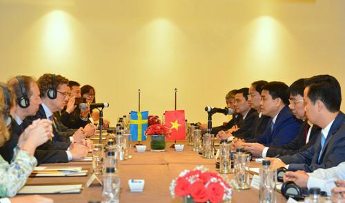 Tăng cường hợp tác kinh tế Việt Nam - Thụy Điển (27/5/2019)