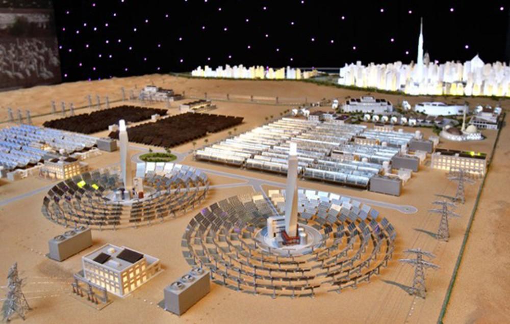Công viên năng lượng lớn nhất thế giới của Các tiểu Vương quốc Ả rập thống nhất (2/5/2019)