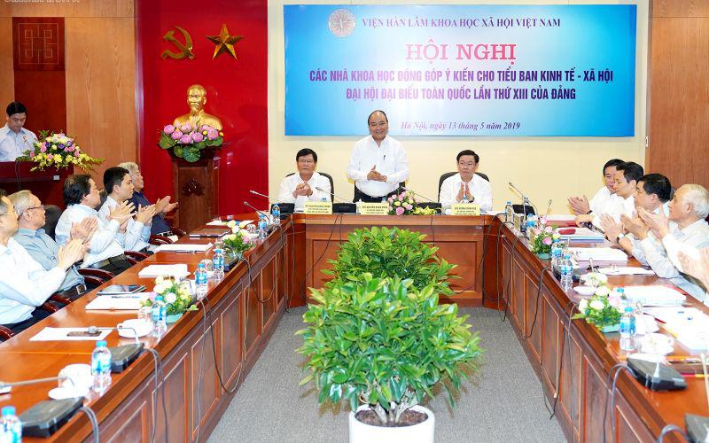 THỜI SỰ 18H CHIỀU 13/5/2019: Thủ tướng Nguyễn Xuân Phúc chủ trì Hội nghị các nhà khoa học đóng góp ý kiến cho Tiểu ban kinh tế-xã hội Đại hội đại biểu toàn quốc lần thứ 13 của Đảng.