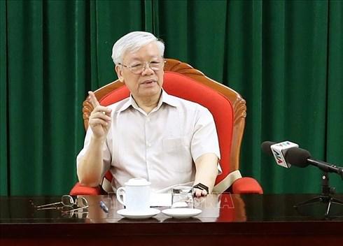 THỜI SỰ 18H CHIỀU 14/5/2019: Tổng Bí thư, Chủ tịch nước Nguyễn Phú Trọng chủ trì cuộc họp lãnh đạo chủ chốt.