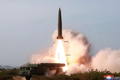 Phóng thử tên lửa, Triều Tiên đang