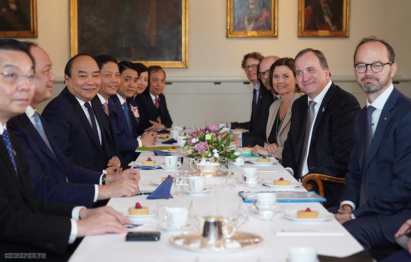 THỜI SỰ 21H30 ĐÊM 27/5/2019: Thủ tướng Chính phủ Nguyễn Xuân Phúc hội đàm với Thủ tướng Thụy Điển Stefan Loefven và dự Diễn đàn doanh nghiệp Việt Nam - Thụy Điển.