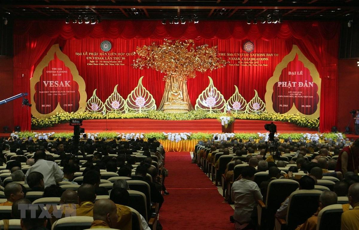 Đại lễ Phật đản Liên hiệp quốc VESAK 2019: Tôn vinh những giá trị nhân văn, những điều tốt đẹp  vì hòa bình cho thế giới (12/5/2019)