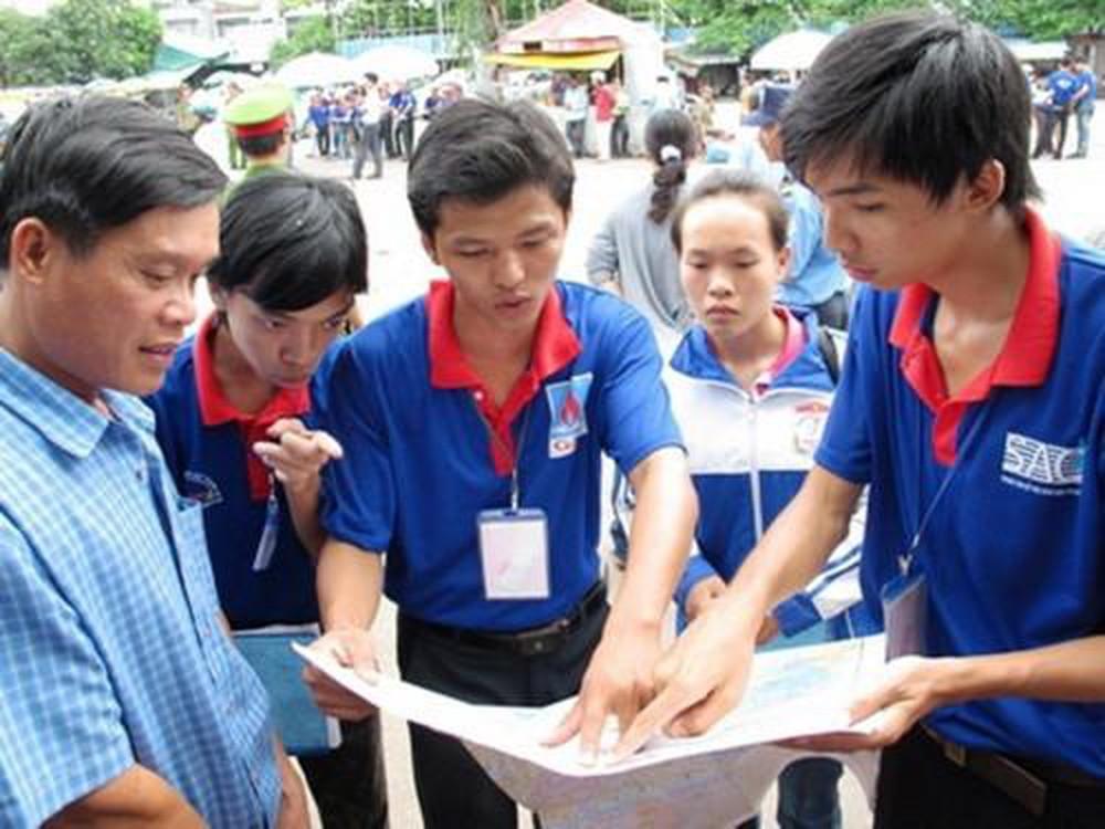 Đoàn Thanh niên các địa phương hỗ trợ thí sinh thi THPT quốc gia 2019 (18/6/2019)