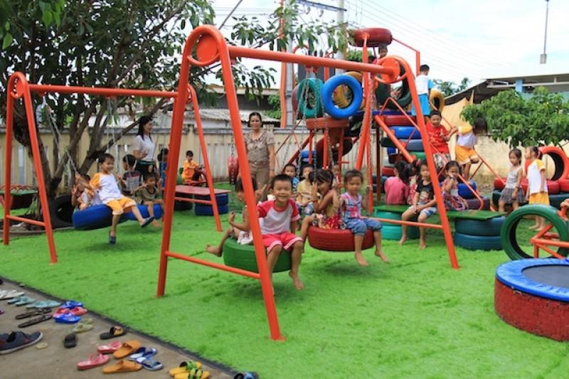 Tạo cơ hội cho trẻ em được vui chơi (18/6/2019)
