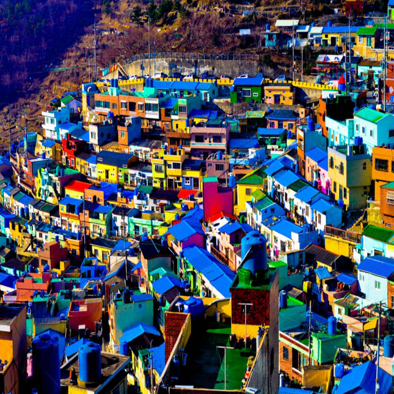 Khám phá ngôi làng sắc màu Gamcheon, thành phố Busan, của Hàn Quốc (13/6/2019)