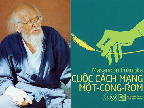 """Cuốn sách """"Cuộc cách mạng một cọng rơm"""" của tác giả Masanobu Fukuoka (12/6/2019)"""