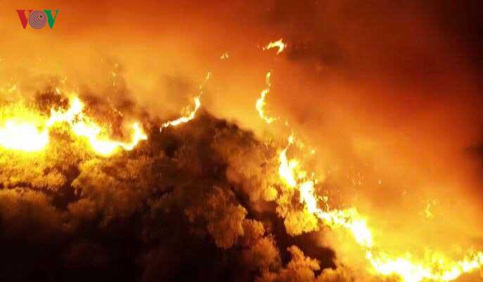 THỜI SỰ 21H30 ĐÊM 29/6/2019: Thủ tướng Chính phủ có công điện yêu cầu các địa phương, bộ ngành tăng cường các biện pháp cấp bách phòng cháy, chữa cháy rừng