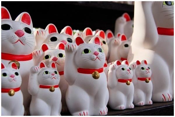 Ngôi đền Gotokuji ở ngoại ô Tokyo – nơi khai sinh của những chú mèo vẫy tay may mắn tại Nhật Bản (16/6/2019)