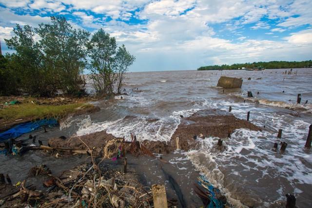 Chống sạt lở bờ sông, bờ biển do biến đổi khí hậu (30/6/2019)