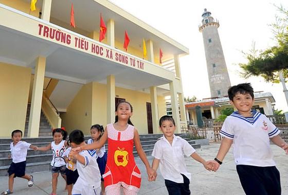 Tết thiếu nhi trên xã đảo Song tử Tây (31/5/2019)
