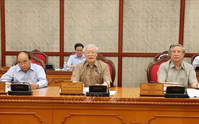 THỜI SỰ 18H CHIỀU NGÀY 21/6/2019: Tổng Bí thư, Chủ tịch nước Nguyễn Phú Trọng chủ trì họp Bộ Chính trị.