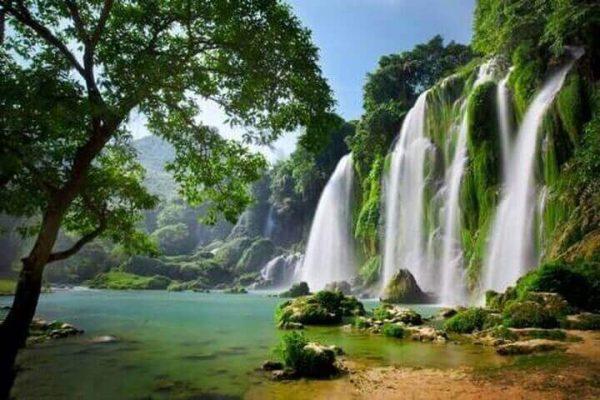 Thác bản Giốc – Cao Bằng, điểm du lịch hấp dẫn (7/6/2019)