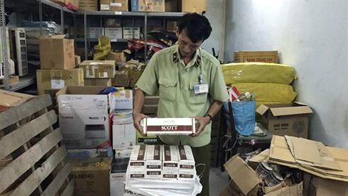Bà Rịa- Vũng Tàu: Bắt giữ lượng lớn thuốc lá ngoại và nước tăng lực không hóa đơn chứng từ (11/6/2019)
