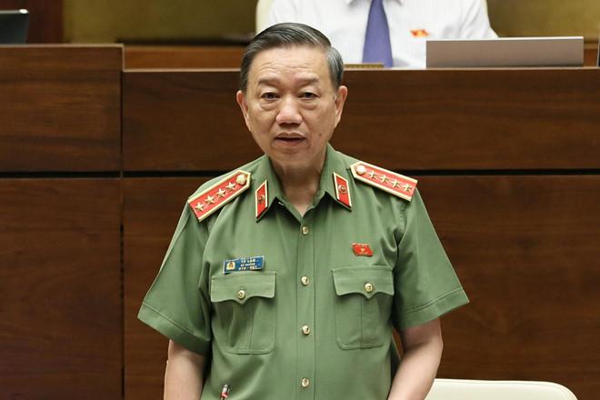 Chất vấn Bộ trưởng Bộ Công an Tô Lâm: Làm rõ nguyên nhân để kịp thời đấu tranh hiệu quả với các loại tội phạm (5/6/2019)