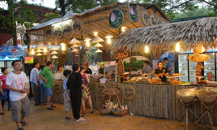 Món ngon 3 miền Bắc - Trung - Nam tại Lễ hội văn hóa ẩm thực Hà Nội 2019 (7/6/2019)