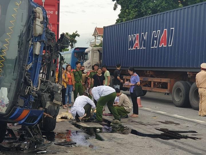 Những vấn đề cần rút ra sau 3 vụ tai nạn giao thông nghiêm trọng trên Quốc lộ 5, đoạn qua tỉnh Hải Dương sáng nay, làm 7 người chết (23/7/2019)