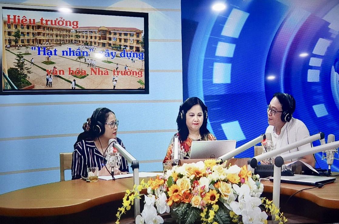 """Hiệu trưởng – """"Hạt nhân"""" xây dựng văn hóa nhà trường (13/7/2019)"""