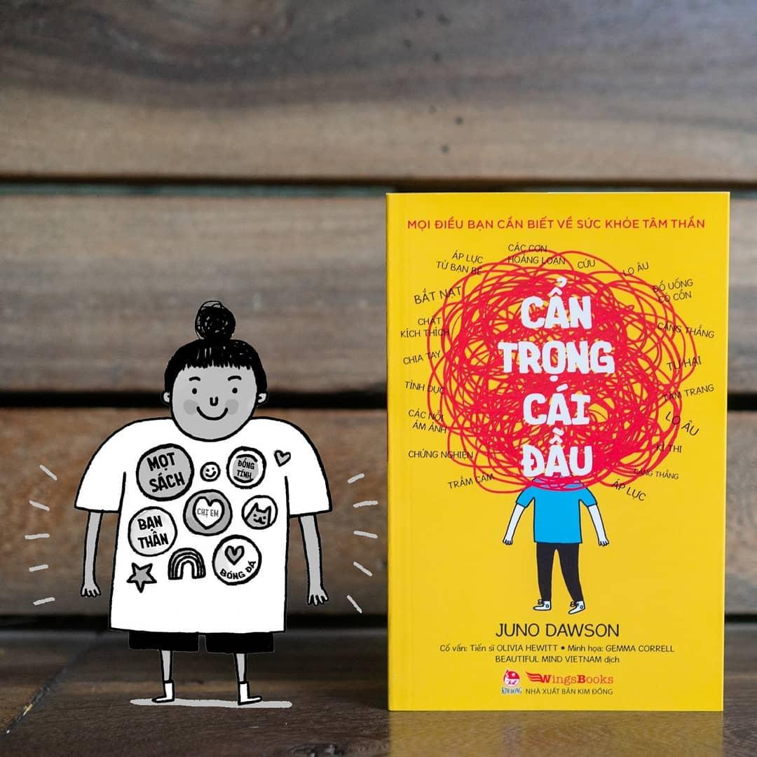 """""""Cẩn trọng cái đầu"""": cuốn sách với nhiều thông tin khoa học và nhận thức hữu ích về các vấn đề sức khỏe tâm thần nói chung, đặc biệt đối với người trẻ (10/7/2019)"""