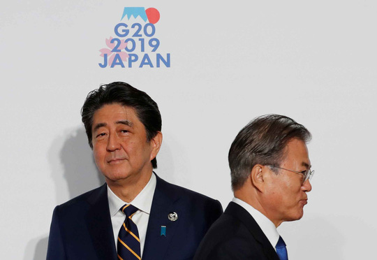 Căng thẳng thương mại giữa Hàn Quốc và Nhật Bản nổi lên là mối quan tâm lớn của các thị trường châu Á (8/7/2019)