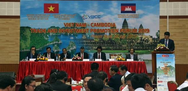 Doanh nghiệp Việt Nam - Campuchia tăng cường hợp tác thương mại - đầu tư (10/7/2019)