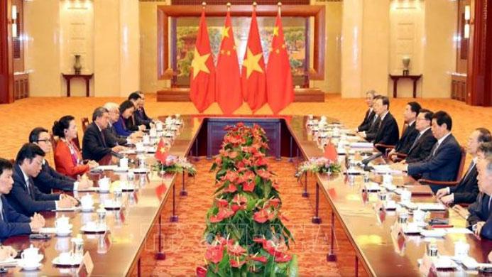 THỜI SỰ 21H30 ĐÊM 11/7/2019: Chủ tịch Quốc hội Nguyễn Thị Kim Ngân hội đàm với với Chủ tịch Nhân đại Trung Quốc Lật Chiến Thư.