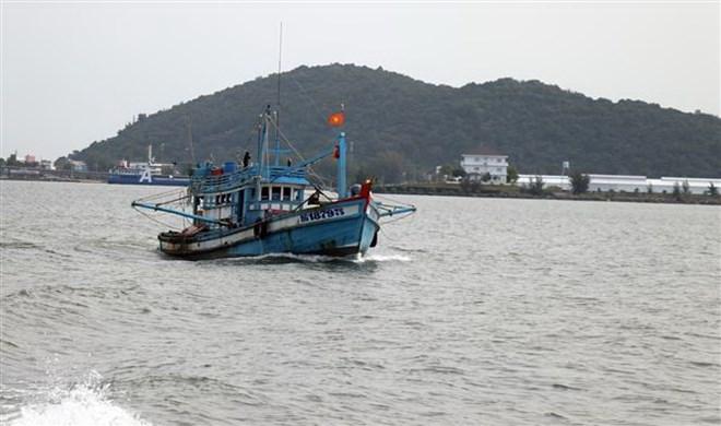 Hoạt động tuần tra kiểm soát nghề cá trên biển của lực lượng kiểm ngư gắn với việc khắc phục thẻ vàng Châu Âu (11/7/2019)