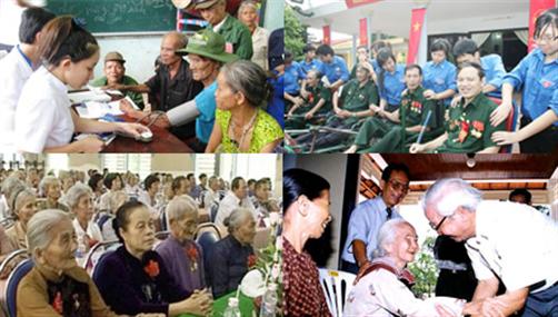 Tư vấn chế độ, chính sách đối với người có công (22/7/2019)