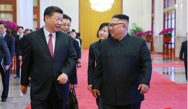 Cạnh tranh địa chính trị Mỹ - Trung mạnh mẽ trên bán đảo Triều Tiên (23/7/2019)
