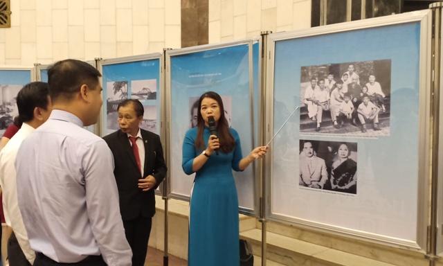 """Triển lãm """"Chủ tịch Xuphanuvong – Người bạn thân thiết của nhân dân Việt Nam"""" (22/7/2019)"""