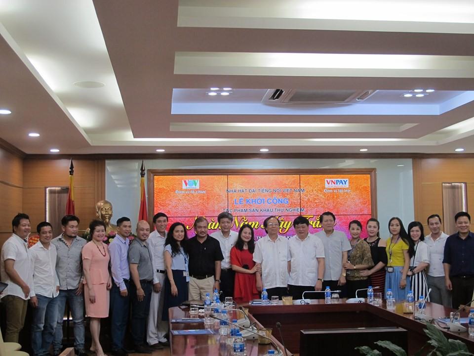 """Vở kịch hát """"Ngàn năm mây trắng"""" kỷ niệm 74 năm thành lập Đài Tiếng nói Việt Nam và 70 năm thành lập Nhà hát Đài (18/7/2019)"""