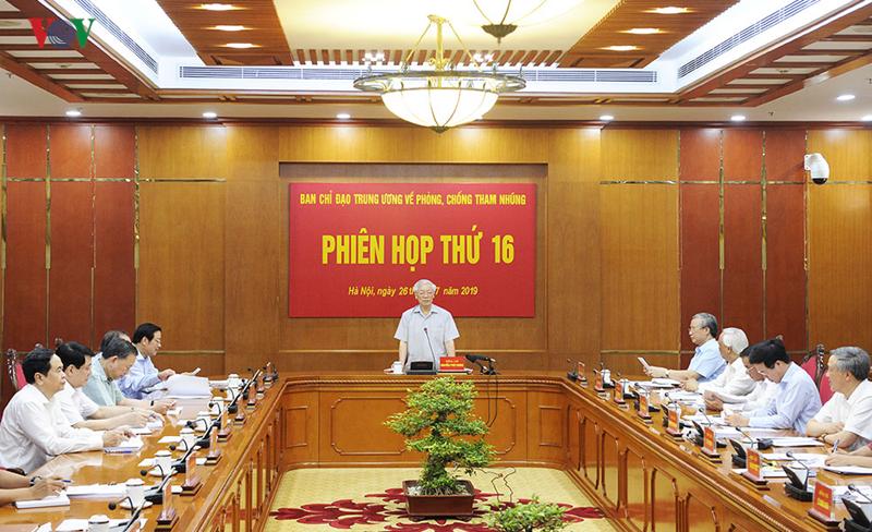 THỜI SỰ 12H00 TRƯA 26/7/2019: Tổng Bí thư, Chủ tịch nước Nguyễn Phú Trọng chủ trì phiên họp thứ 16, Ban Chỉ đạo Trung ương về phòng chống tham nhũng.