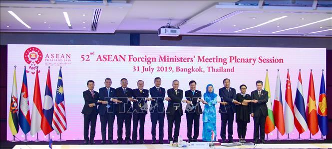 Hội nghị Bộ trưởng ngoại giao Asean lần thứ 52 và các hội nghị liên quan (4/8/2019)