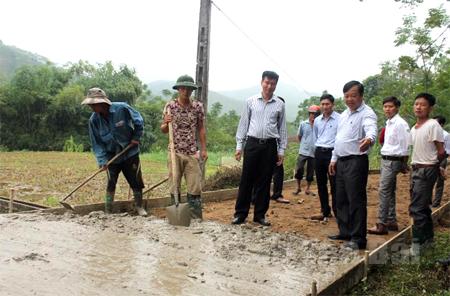 Xây dựng nông thôn mới từ lòng dân (8/8/2019)