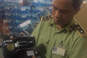 Quản lý thị trường Hà Nội: Ngăn chặn gần 500 máy bơm nước giả mạo xuất xứ