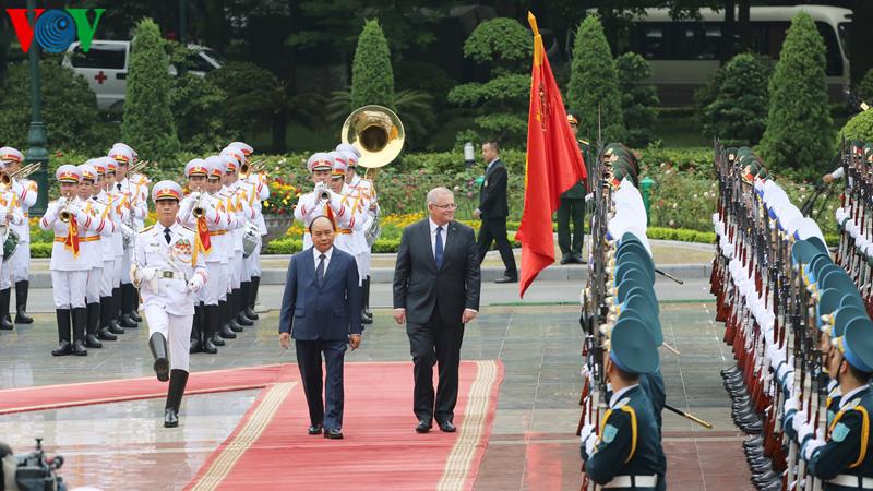 THỜI SỰ 12H TRƯA 23/8/2019: Thủ tướng Nguyễn Xuân Phúc đón và hội đàm với Thủ tướng Australia Scott Morrison.