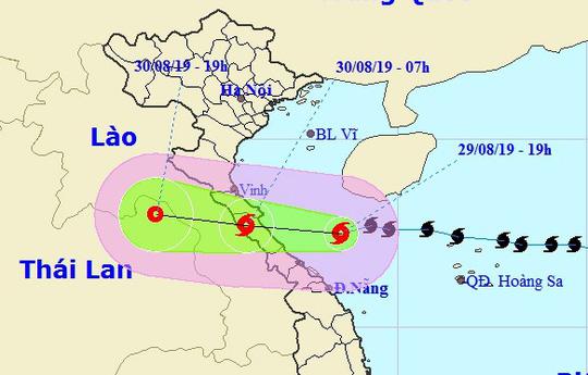 THỜI SỰ 6H SÁNG 30/8/2019: Bão số 4 đi vào đất liền các tỉnh Hà Tĩnh và Quảng Bình, gây mưa to đến rất to.