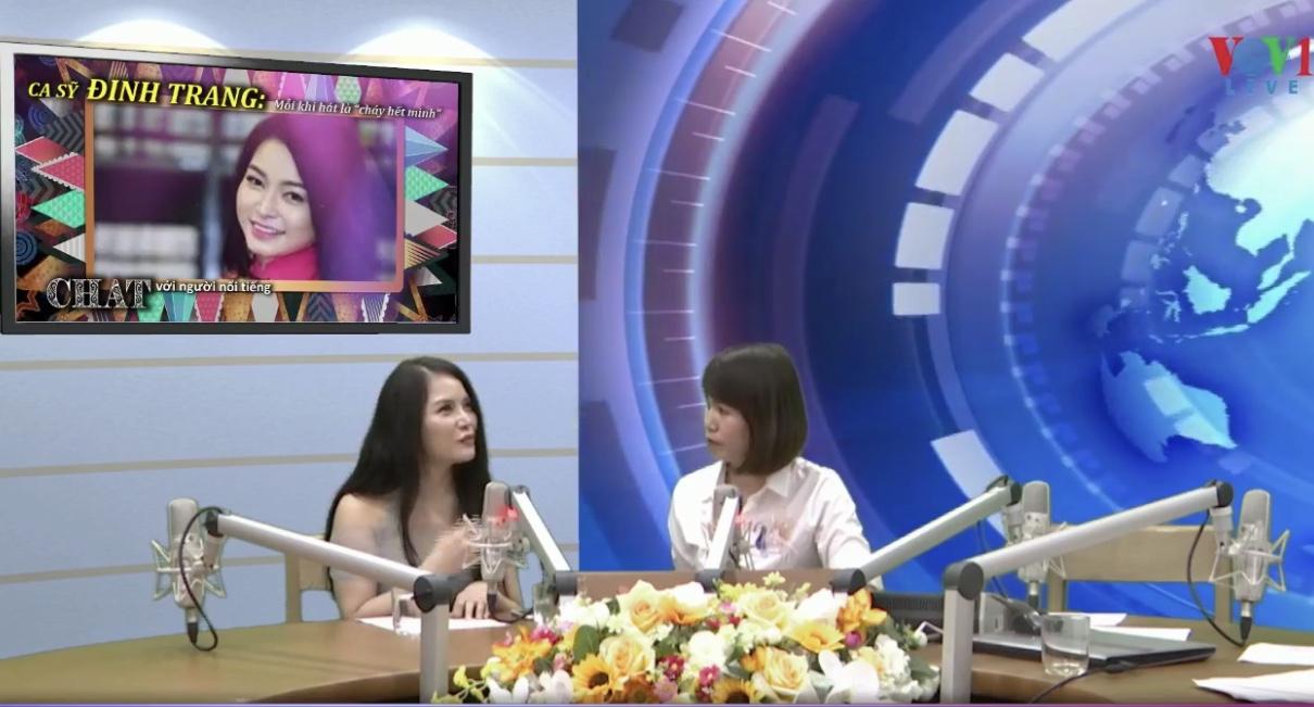 """Ca sĩ Đinh Trang: Mỗi khi hát là """"cháy hết mình"""" (24/8/2019)"""
