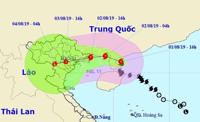 THỜI SỰ 06H00 SÁNG 2/8/2019: Dự báo chiều tối nay, bão số 3 sẽ đổ bộ khu vực Quảng Ninh - Thái Bình. Công tác phòng tránh bão đang được tiến hành khẩn trương.
