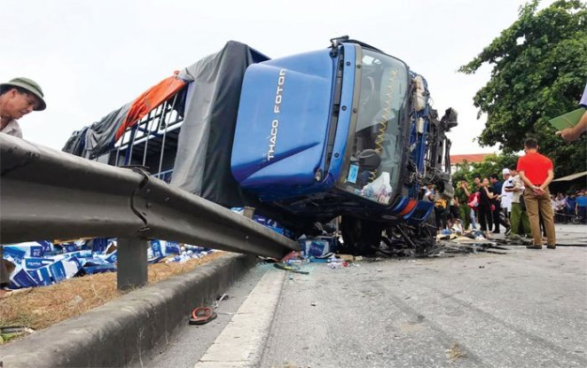 Quốc lộ 5 qua địa bàn tỉnh Hải Dương – Cung đường tử thần (5/8/2019)