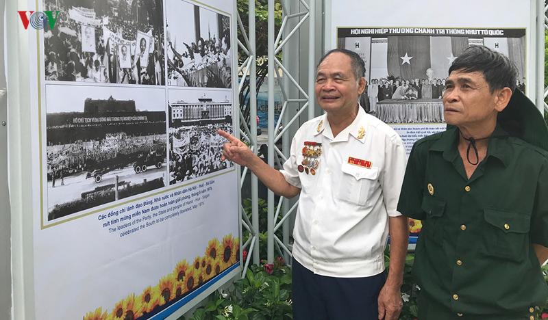 Triển lãm 340 bức ảnh ở Thành phố Hồ Chí Minh tái hiện lại cuộc chiến hào hùng của quân và dân trong cuộc kháng chiến chống Mỹ cứu nước; công cuộc đổi mới của chính quyền và nhân dân thành phố thực hiện theo Di chúc Bác Hồ kính yêu trong suốt 50 năm qua (22/8/2019)