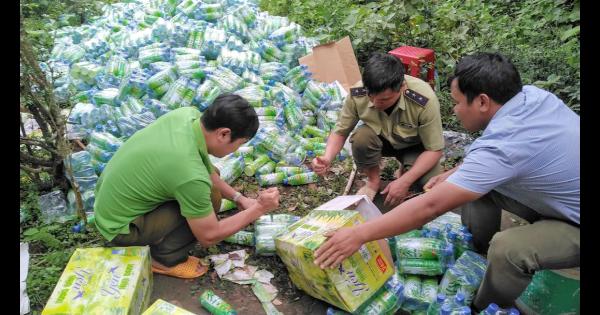 Gia Lai: tiêu hủy hơn 15.000 chai  nước yến là tang vật vi phạm quyền sở hữu công nghiệp (20/8/2019)